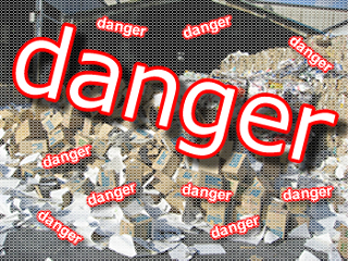 機密情報の危険な廃棄方法