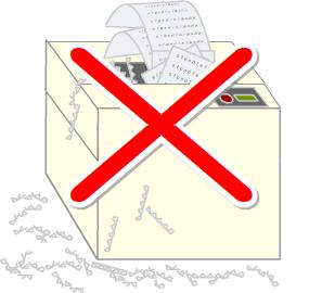 シュレッダーは不要!文書・書類廃棄に溶解処理のすすめ